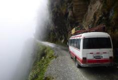 Será esta a estrada mais perigosa do mundo?