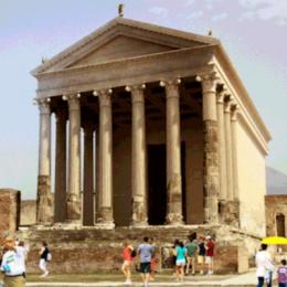 Gifs animados recriam monumentos a partir das ruínas