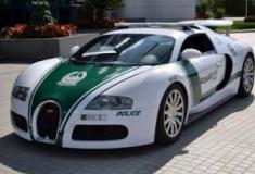Conheça a frota milionária da polícia do Dubai