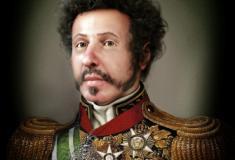 Reconstituição mostra verdadeiro rosto de D. Pedro I com fratura no nariz