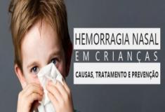 Hemorragia nasal em crianças. Causas, tratamento e prevenção