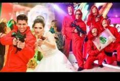 Noivos imitam cena de 'La Casa de Papel' em casamento e viralizam