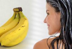 Máscara capilar caseira com banana