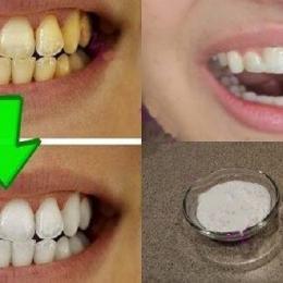 Veja como clarear os dentes em casa