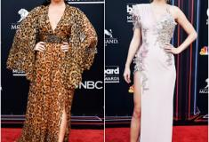 Looks das famosas no Billboard Music Awards