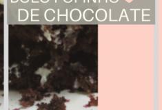 Receita: o melhor bolo de chocolate fofinho