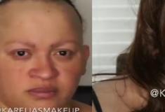 Mulher passa por incrível transformação de visual no Facebook