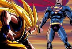 Goku e Vegeta versus todos os heróis da Marvel e DC