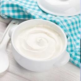 Máscara capilar com iogurte