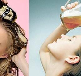 Como usar cerveja para ter cabelos maravilhosos