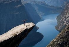 Fotografias mostram o quão somos pequenos diante da natureza.