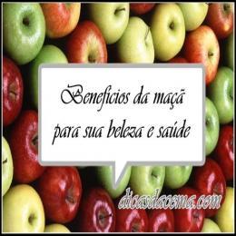 Benefícios da maçã para sua saúde e beleza