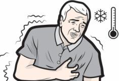 Frio aumenta o risco de problemas cardíacos
