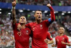 Ronaldo perde pênalti, Portugal sofre para empatar com Irã e se classifica