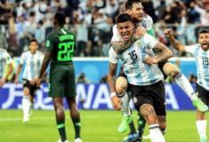 Argentina bate Nigéria, evita vexame histórico e pega a França nas oitavas da Copa