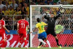 Sem susto: Brasil vence a Sérvia por 2 a 0 e vai enfrentar o México nas oitavas de final