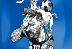 Ilustrações primeira fase da Copa