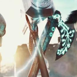 Uma luta épica - Kratos vs Thor