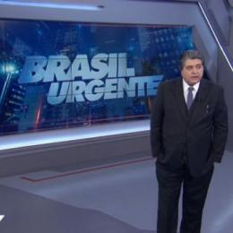 "Datena desiste de candidatura e reassume o ""Brasil Urgente"""
