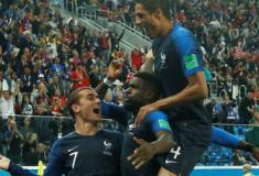 França frustra sonho belga e vai à final em busca do bi