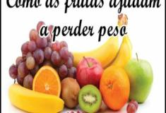 Como as frutas ajudam a emagrecer