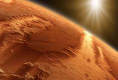 A descoberta de água em Marte