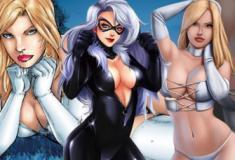 As mulheres heroínas mais bonitas do mundo dos quadrinhos