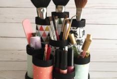Como organizar seus itens de maquiagem