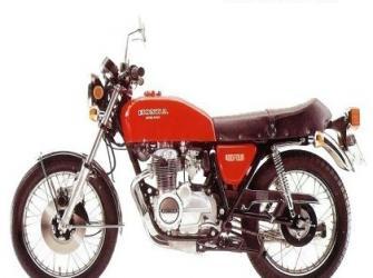 Honda CB 400 four - foi importada nos anos 1975-1976 e 1977