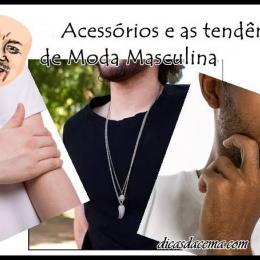Acessórios e tendências de moda masculina