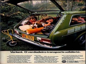 Variant - eleito pela Revista Autoesporte o Carro do Ano de 1971.