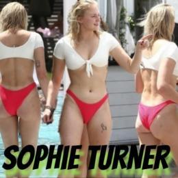 Sophie Turner, de Game of Thrones, mostra sua exuberância em tarde no clube