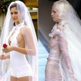 Os 12 vestidos de noivas mais chamativos que você vai ver