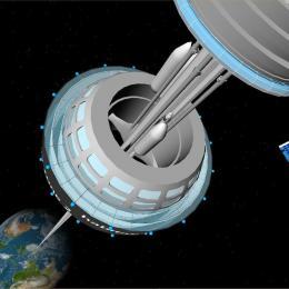 O Japão lançou um elevador espacial em miniatura