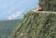 Conheça a terrível estrada da morte, na Bolívia