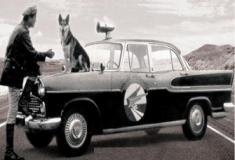 O Vigilante Rodoviário - Foi ao ar em 1961 na Tupi, e reexibida na década de 70 pela Globo