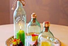 Como cortar garrafa de vidro artesanalmente