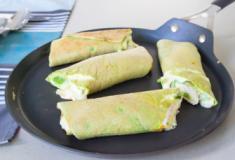 Panqueca verde sem farinha