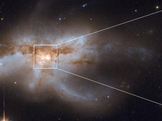 O que a fusão de várias galáxias com buracos negros diz sobre o futuro da Via Láctea