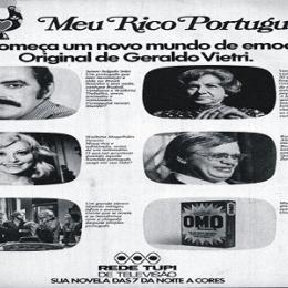 Meu Rico Português - sucesso que desbancou a novela concorrente no horário na Globo.