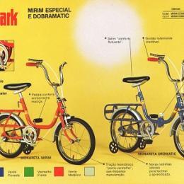 Monark Monareta -  Teve seu início de fabricação em meados dos anos 1960.