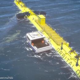 Turbina das marés mais poderosa do mundo