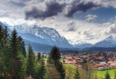 Montanha ameaça desabar nos Alpes
