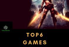 Top 6 games de 2018!