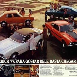 Ford Maverick -  lendário e hoje é cultuado por pessoas de várias idades