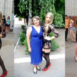 20 meninas vestindo os vestidos mais estranhos no dia da formatura