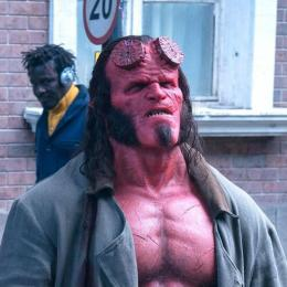 Olha só o visual desse novo Hellboy. Está incrível!
