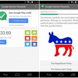 Saiba como ganhar mais créditos no Google Opinions Reward