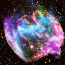 Astrônomos detectam fonte desconhecida de alta energia perto de supernova