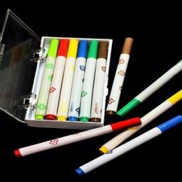 Canetinhas Sylvapen - Elas foram lançadas em 1971 em estojos de seis e doze cores.